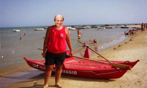 Giancarlo Magalli bagnino per un giorno. Il 23 luglio a Porto Badisco