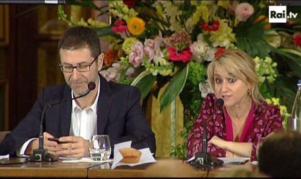 """Sanremo 2014, Fazio:""""Il pasticciotto alla conferenza stampa? un omaggio al Salento"""""""