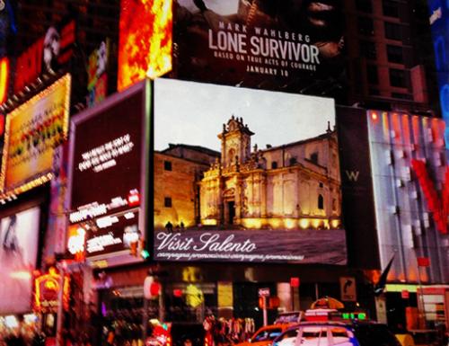 Il barocco a Times Square, oggi sugli schermi il Duomo di Lecce