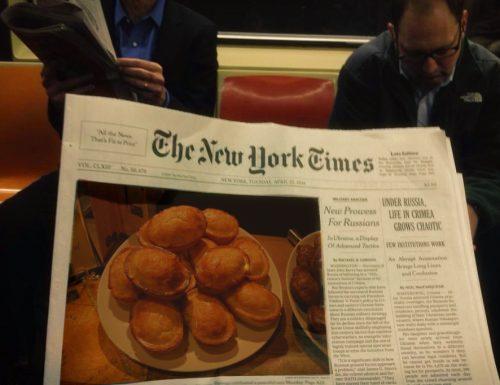Il Pasticciotto sulla copertina del New York Times, il Salento festeggia la sua tradizione.