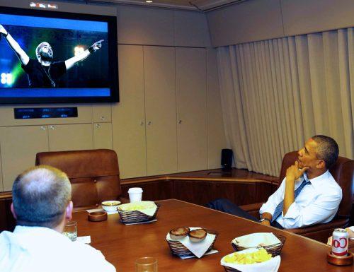 L'ultimo viaggio di Obama in Europa, sull'Air Force One con Pasticciotti e Negramari