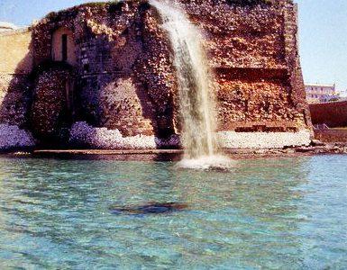 Lo sceicco Mansour Al Natal compra la cascata rosa di Otranto, sarà restaurata entro il 2016