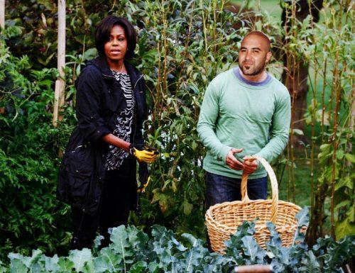 Michelle Obama vola a Copertino per assaggiare gli zanguni di Giuliano Sangiorgi