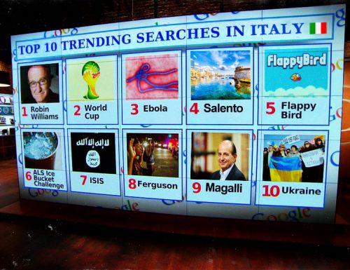 Mondiali 2014, Isis e Salento: parole più cercate dagli italiani su Google
