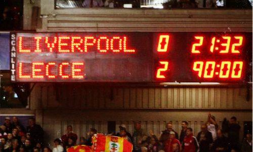 Anniversario col botto: Lecce celebra la storica vittoria a Liverpool del 1984