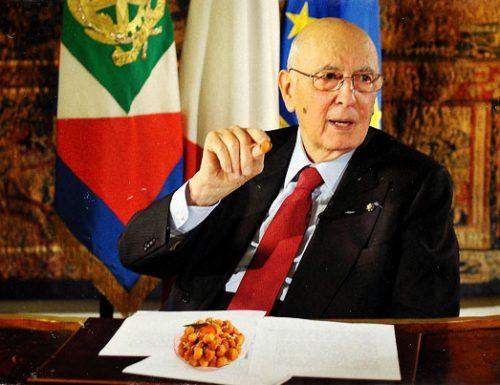 Ultimo desiderio da Capo di Stato, Napolitano si concede i Purceddhruzzi