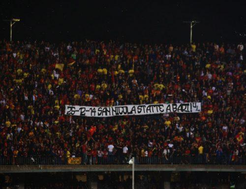 Natale 2014: Ultras Lecce contro Babbo Natale e le sue origini baresi mai negate