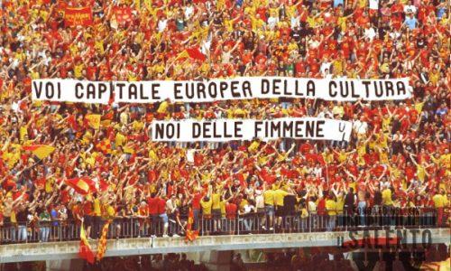 Lecce-Matera: il sindaco lucano conquisterà San Pio e le Casermette in caso di vittoria del derby della cultura