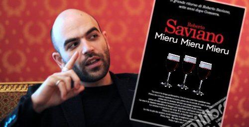 Mieru Mieru Mieru, il libro di Saviano sulla malavita a stozze da regalare agli mbriacuni