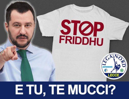 Scuole salentine al freddo: in arrivo altre felpe di Matteo Salvini per gli alunni