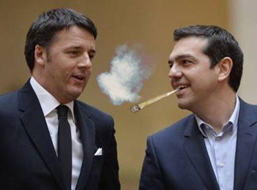 """""""Cicileu!"""". Il vero regalo di Tsipras a Matteo Renzi."""