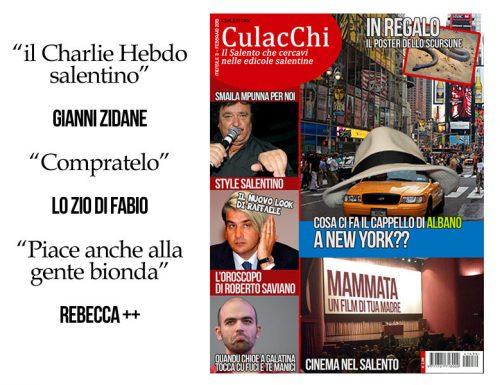 Culacchi torna in edicola, domani il nuovo numero del settimanale salentino