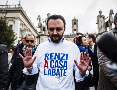 La seconda battaglia di Matteo Salvini nel Salento, portare Matteo Renzi a Casalabate