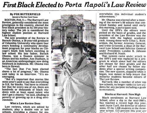 L'articolo del New York Times su Obama quando era in Erasmus a Porta Napoli