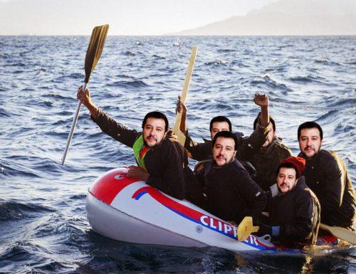 Emergenza immigrati, nuovi sbarchi di Voi con Salvini nel Salento