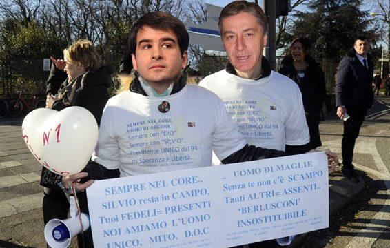 Berlusconi lascia Cesano Boscone, il monito di Fitto:  «Primarie per il successore»