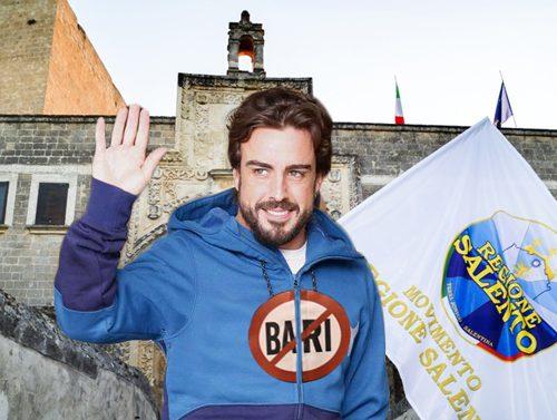 Giallo Alonso in F1: «Ha avuto un'amnesia, pensava di essere nella Regione Salento»