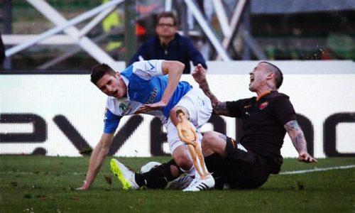 Chievo-Roma, infortunio shock: sospetta frattura di tibia e Paolo Perrone