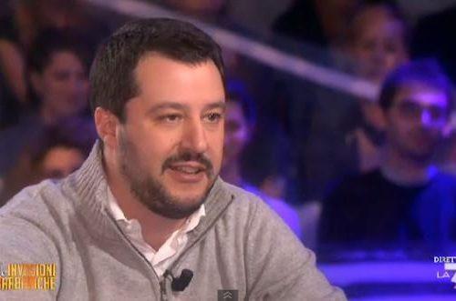 """Matteo Salvini a Le Invasioni Barbariche: """"Io amo il Salento, chiamerò mia figlia Xylella"""""""