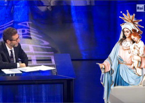 8marzo: stasera la Madonna di Cursi ospite a Che tempo che fa
