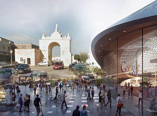 Google svela il progetto per il nuovo campus di Copertino