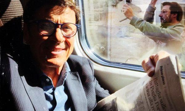 Gianni Morandi insultato da Salvini mentre legge la Poli Bortone