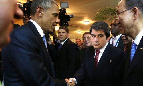 USA-Maglie storica stretta di mano Obama-Fitto e nasce l'intesa Forza Stati Uniti