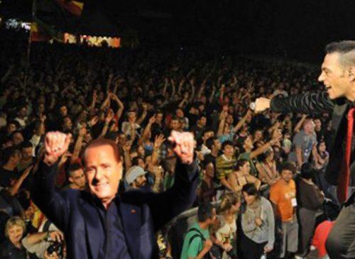 Berlusconi sbaglia comizio e al Mamanera sostiene una Dancehall dei Sud Sound System