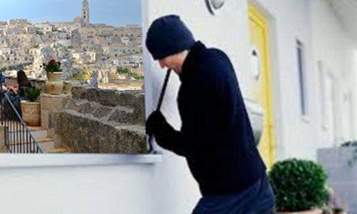 Matera: ladri leccesi in azione, rubato il titolo di Capitale Europea della Cultura