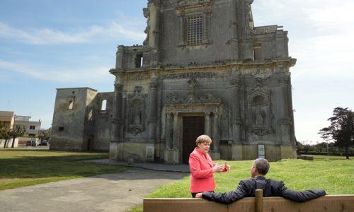 G7 di Melpignano: accordo storico Merkel-Obama sugli ospiti del Concertone