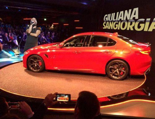 """Fiat presenta """"Giulianasangiorgia"""", la nuova auto prodotta a Copertino Est"""