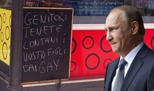 Vladimir Putin in Italia. Prima Expo con Renzi, poi la lavagnetta di via Trinchese