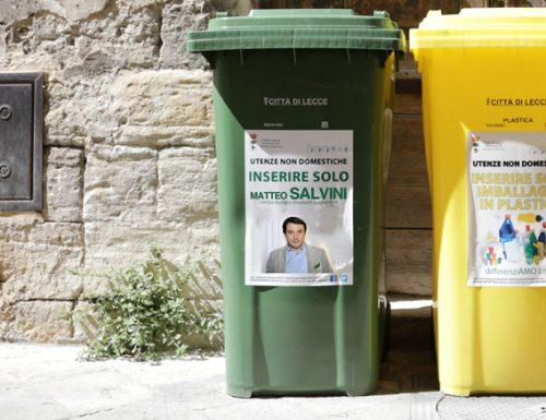 Differenziata a Lecce: Boom di contenitori verdi dopo le Regionali