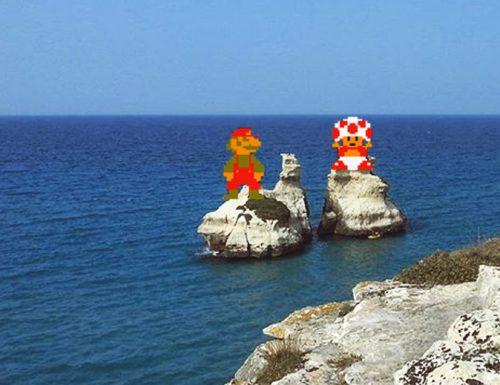 Ancora Vip nel Salento, a Torre dell'Orso c'è Super Mario