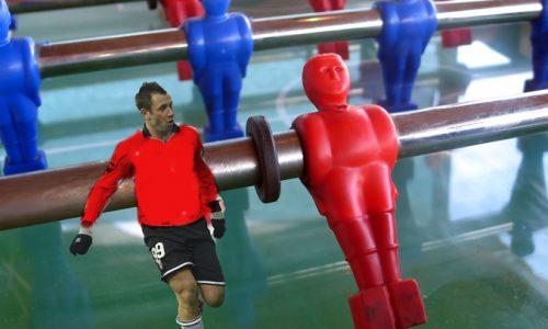 Nuova idea per Antonio Cassano, finire la carriera in un calcio balilla di Gallipoli