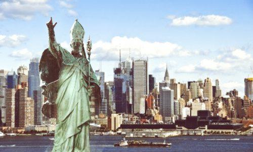 Hackerata la statua della Libertà a New York