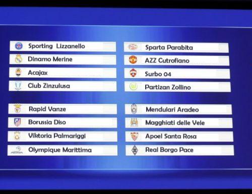 Sorteggio Europa League: Spiccano i derby di Lizzanello e Marittima. Ripescato l'Acajax.