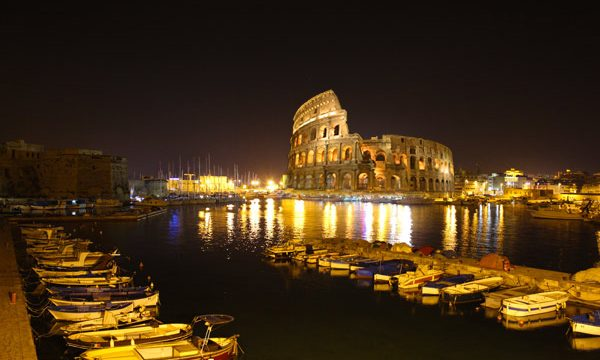 Delirio a Gallipoli: I Mazzari occupano il Colosseo durante i festeggiamenti del Dio Smaila
