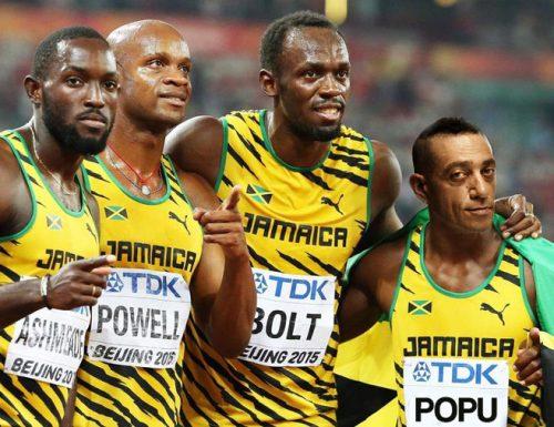 Nandu Popu trascina la staffetta giamaicana alla medaglia d'oro