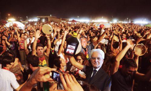 Taranta2015: Tra i 400mila che ballavano a Melpignano anche la sobrietà di Mattarella