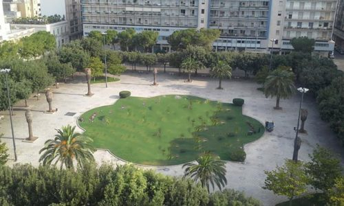 Ancora furti in Piazza Mazzini a Lecce, i ladri portano via la fontana