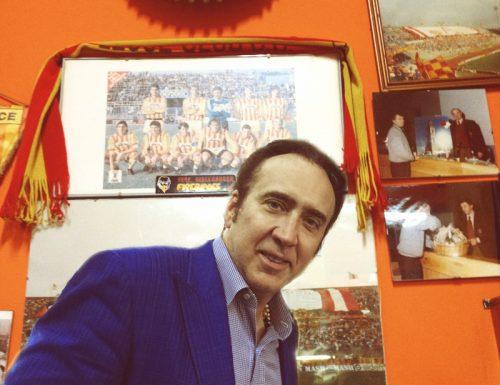 """L'appello di Nicolas Cage da Soleto: """"Domani tutti allo stadio, forza Lecce nesciu!"""""""