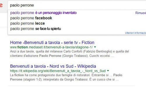 Google Shock: Paolo Perrone è un personaggio inventato di una fiction tv