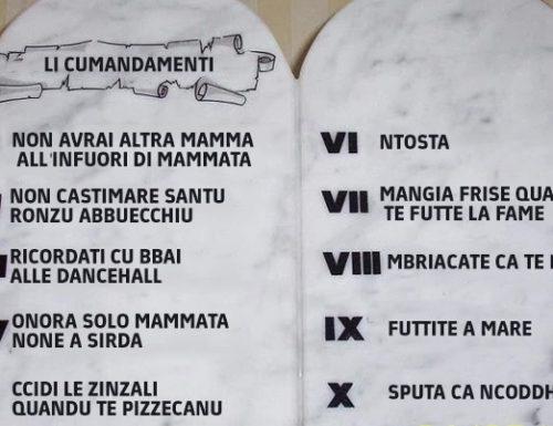Ritrovate sul monte di Monteroni le tavole dei 10 comandamenti che si temevano scerrati