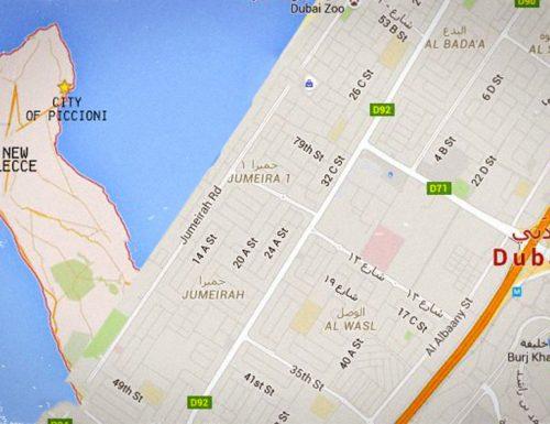 Follia a Dubai: lo sceicco Dorcemui si fa costruire la penisola salentina nell'emirato