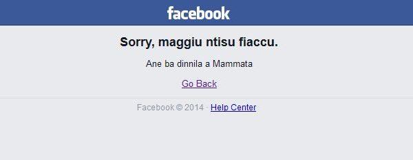 #Facebook down, l'annuncio del social network è salentino