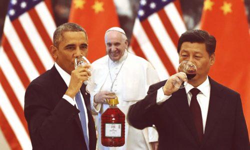 Obama pija lu iundulu, offre mieru a Xi Jinping e a Mesciu Francu
