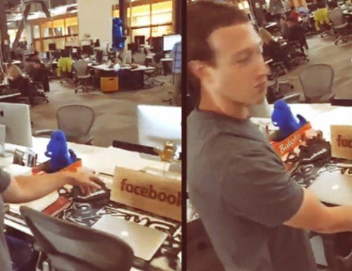 Mark Zuckerberg svela l'ufficio di Facebook e la sua passione per il Salento