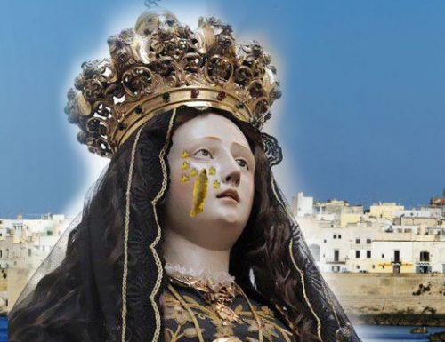 Gallipoli: Si rinnova il miracolo della Madonna, ha pianto scapece