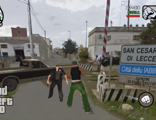 GTA arriva in Salento, il Nuovo capitolo di Grand Theft Auto a San Cesario di Lecce
